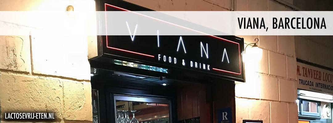 Lactosevrij avondeten in Barcelona Viana