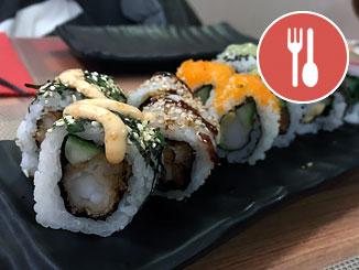Lactosevrije sushi in Nijmegen