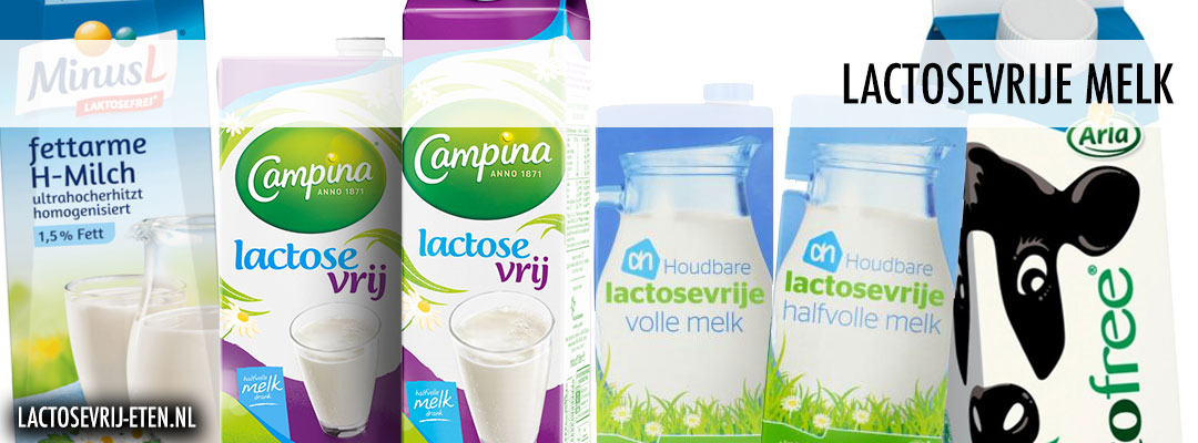 Lactosevrije melk merken
