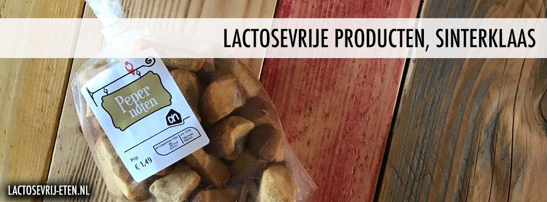 Lactosevrije producten voor Sinterklaas pepernoten