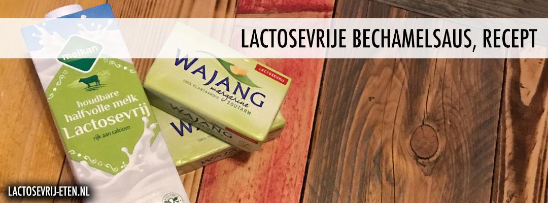 Lactosevrije bechamelsaus recept ingrediënten