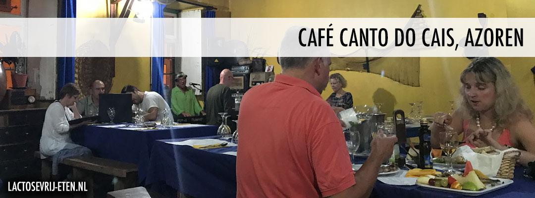 Lactosevrij eten op de Azoren Cafe Canto do Cais
