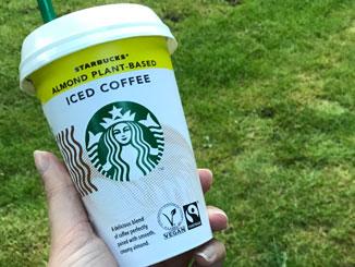 Lactosevrije Starbucks ijskoffie