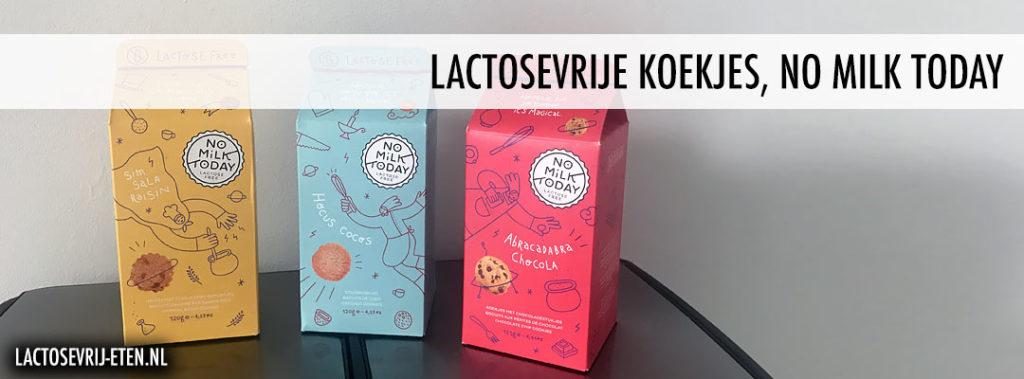 Lactosevrije koekjes No Milk Today
