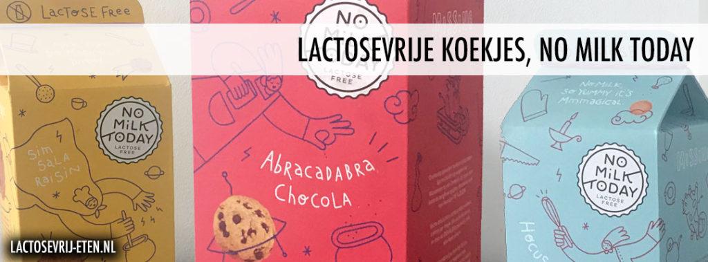 Lactosevrije verschillende koekjes No Milk Today