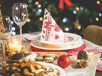 Lactosevrij gourmetten met Kerstmis