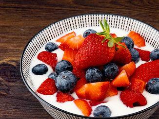 Lactosevrije yoghurt