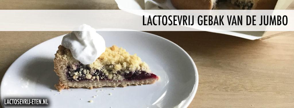 Lactosevrij gebak en taart bij de Jumbo